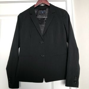 Gap Black Two Button Blazer